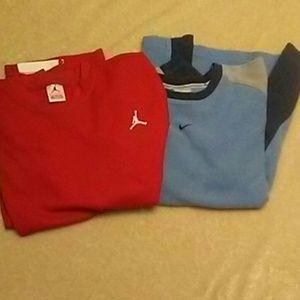 Nike Bundle Long Sleeve Tee & Sweater